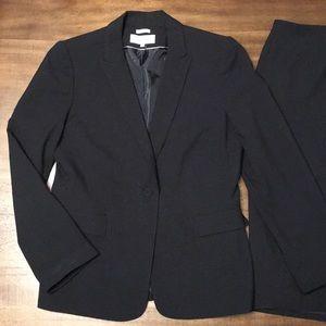 Calvin Klein Stretch Skirt Suit